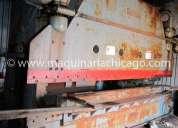 Prensa cincinnati 16' x 600 ton usada