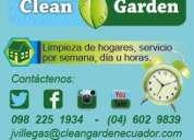 Empresa de limpieza de casas y oficinas por dias a la semana