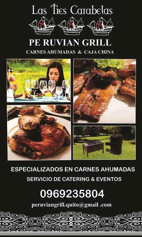 ASADOS CARNES AHUMADAS Y CAJA CHINA PARA EVENTOS QUITO- VALLES