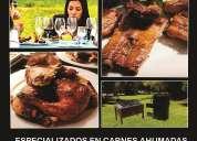 Parrilladas asados carnes ahumadas y caja china para eventos machachi - quito- valles