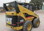 vendo repuestos para mini cargadora cat 252b