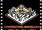 Construcción de casas y obra civil albañileria , plomeria, electricidad
