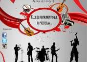 escuela de música opera & concert  ((estudia tu instrumento preferido))