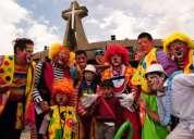 Contrato hombres y mujeres para animar fiestas infantiles en quito