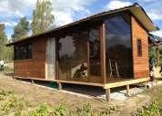 Casas de madera, pergolas, decks, cambios ,trueques,0987715050,tarjetas de credito