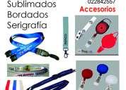Fabricamos cordones publicitarios gafetes carnets