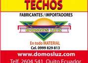 Techos de policarbonato para casas