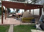 Casas de madera, pergolas, decks, cambios ,trueques,0987715050,ta