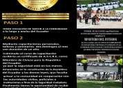 Civicos con la república del ecuador