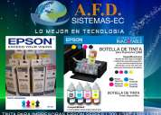 Tinta para impresoras epson series l200, l210, l355, l555