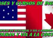 Clases y cursos de inglés a domicilio en guayaquil
