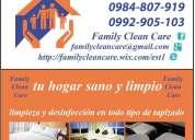 Lavado de salas comedores alfombras vehiculos cojines,consulte!