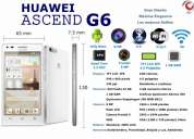 Vendo huawei ascend g6 equipos nuevos y originales