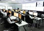 Video walls para salas de control - consolas ergonómicas