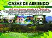 Vilcabamba - malacatos casas de arriendo