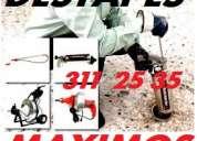 Servicio de destapes  de caÑerias  todoquito..! 311 25 35
