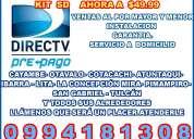 Direct tv ventas e instalacion  cayambe -ibarra- tulcan