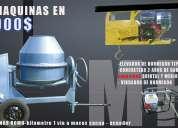 Concreteras maquinas romo