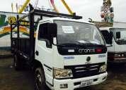 Vendo camion cronos ano 2012, 55000km recorridos,3 ton, valor $13000 negociables llamar 0992328035