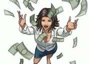 Busco chica joven, apoyo económico disponible