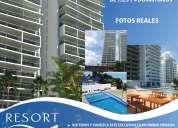 Resort playa azul, exclusividad... a orillas del mar. tonsupa, puerto gaviota esmeraldas, ecuador