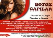 Botox capilar - alisados permanentes