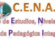 Nivelación de diferentes materias física, química matemáticas