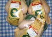 Compre pollos de excelente calidad, 100% orgÁnico sin hormonas