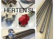 Fabricacion de cartuchos calefactores de alta densidad - herten -