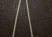 Preciosa cadena de plata 925 italy