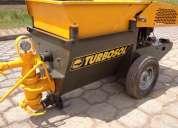 Hormigonera y transportadora de morteros mini avant turbosol