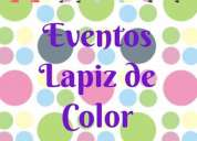 local para eventos infantiles en la garzota lapiz de color