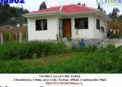 Vendo casa en ricaurte precio: 85.500