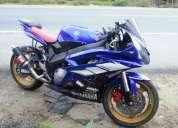 Vendo moto yamaha ninja r6 600cc