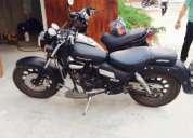 Vendo moto tipo harley keeway