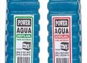 Vendo agua destilada para baterías