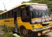 Vendo bus hino gd 2002,buen estado!