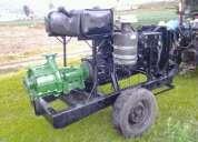 Vendo moto bomba para riego, mineria