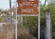 Vendo terreno de 780 mtrs² en ancon barrio ingles,aproveche ya!