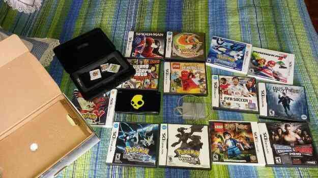 Excelente Nintendo 3D 16 juegos mas estuche
