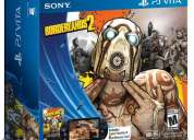 Vendo psvita borderlands 2, ps vita memoria 8gb, wifi