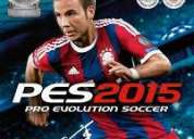Vendo pes15 video juego pro evolution soccer