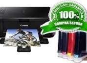 Vendo impresoras de alta calidad con wifi sistema de tinta