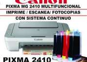 Impresoras de paquete con sistema de tinta