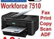 Vendo multifuncion a3 epson wf7510 sistema tinta continua