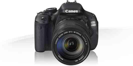 Excelente Cámara Canon EOS 600D Mas Dos Objetivos