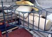 Vendo 2 espaldares de hierro para cama
