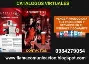 Venta de revistas y catalogos on line virtual