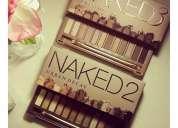 Vendo paletas naked 2, naked 3 sombras maravillosas aprovecha el precio!