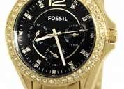 Vendo reloj fossil original para mujer es3384